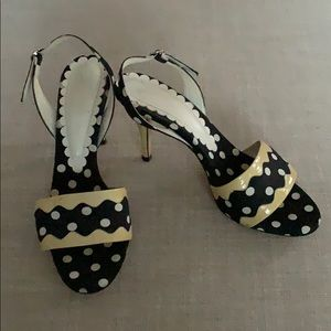 ✨YSL Polka dot Sandals ✨